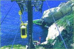 cable car at Rosh Hanikra