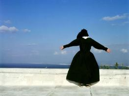 Carmelite at the monastery, photo by  Lili Almog